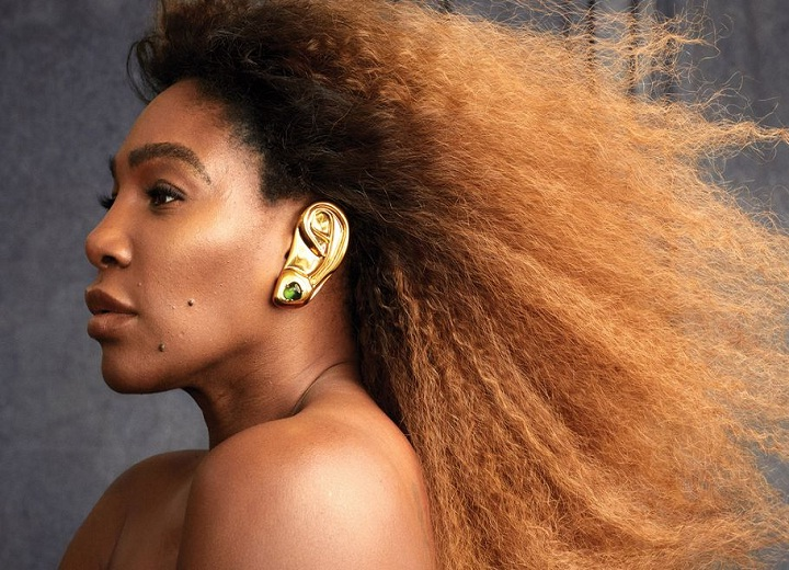 Serena Williams Harper Bazaar