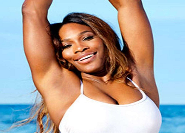 Serena Williams Shows Off Curves in Bikinis