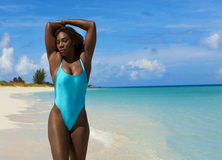 Serena Williams Wears a Thong Bikini First time