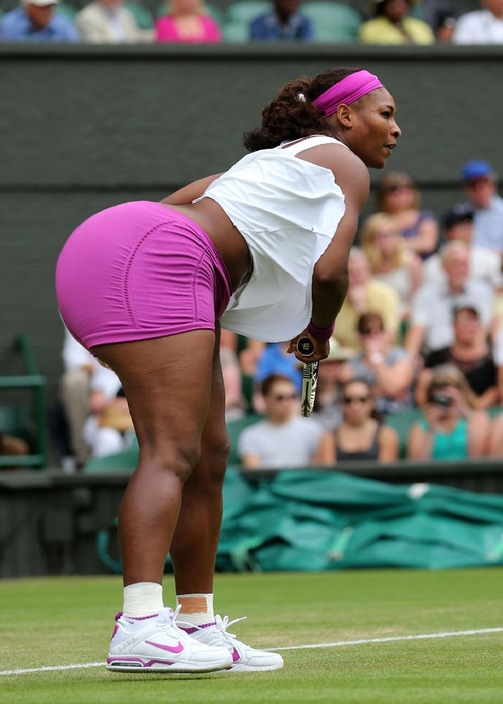 Serena Williams booty set
