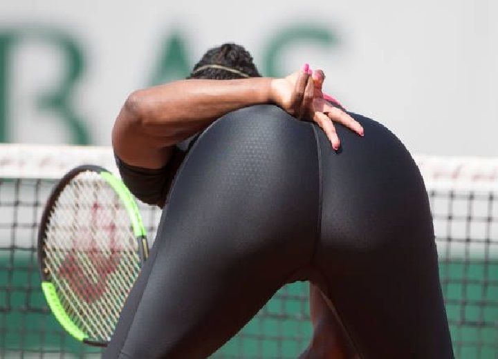 Serena Williams butt