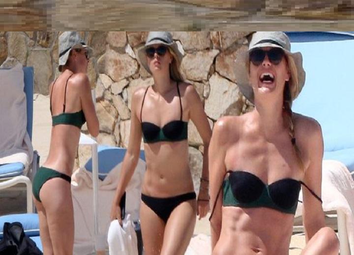 Maria Sharapova Displays her Hot toned bikini body