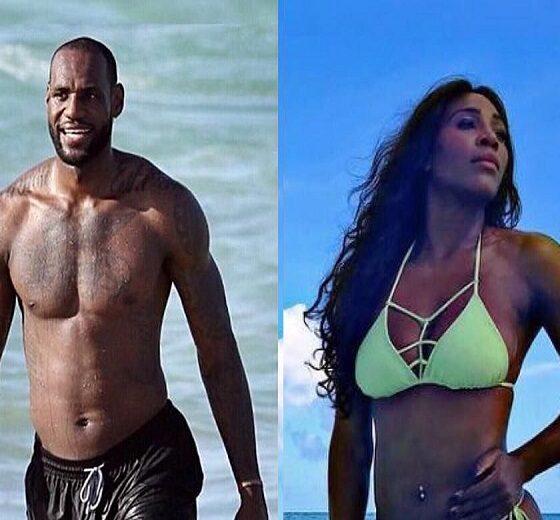 Serena Williams and Lebron James