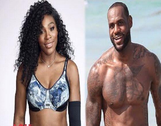 LeBron James and Serena Williams