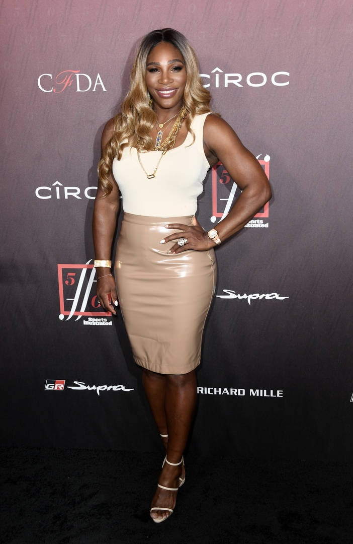 Serena Williams bleaching