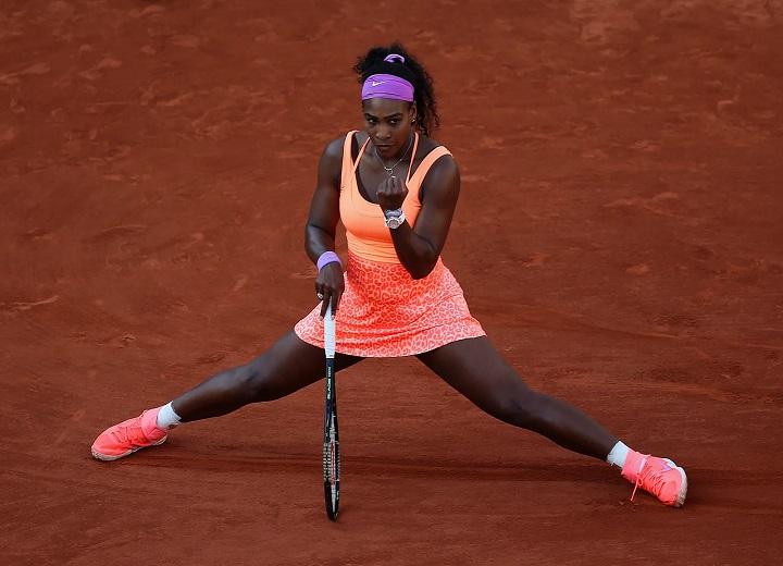 Serena Williams court