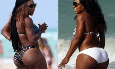 Serena Williams just cute