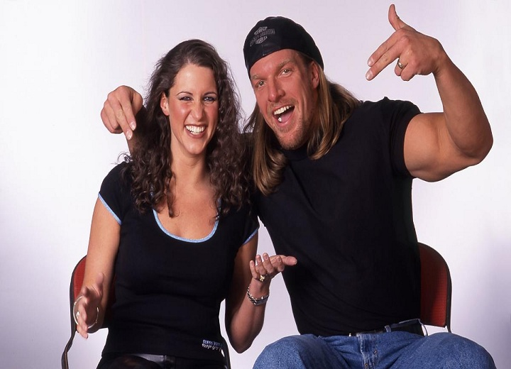 Stephanie McMahon and Triple H through the years