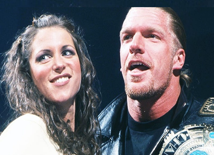 Stephanie McMahon and Triple H