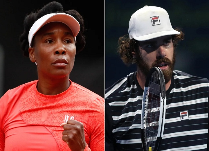 Venus Williams is rumored to be dating Reilly Opelka