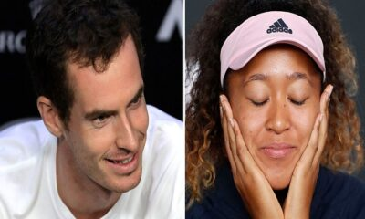 Andy Murray and Naomi Osaka