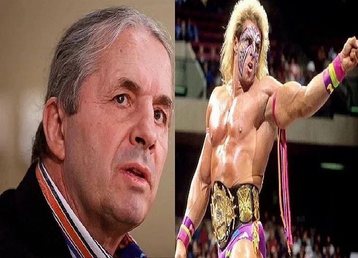 Bret Hart and The Ultimate Warrior