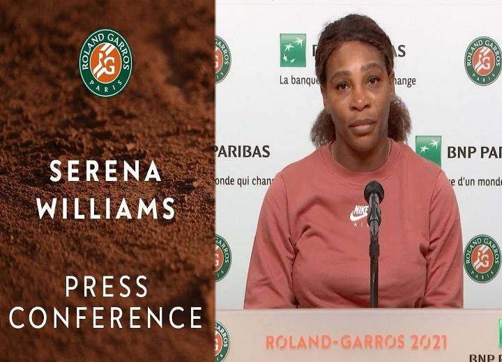 Serena Williams interview Press Conference
