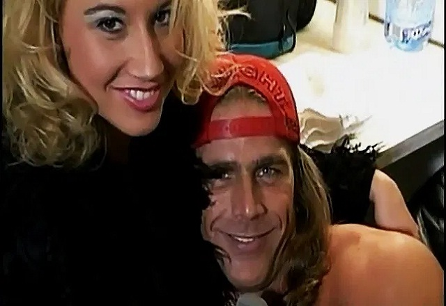 Sunny and Shawn Michaels dated