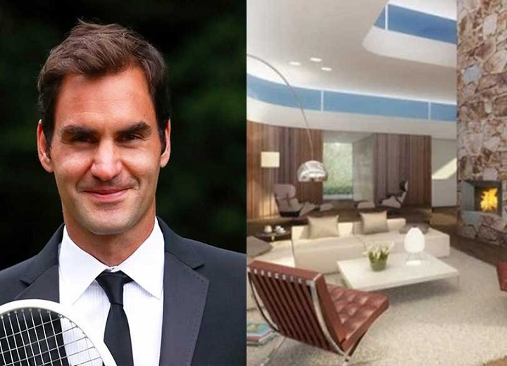 A Peek into Roger Federer £6.5m Stunning Glass House to show off