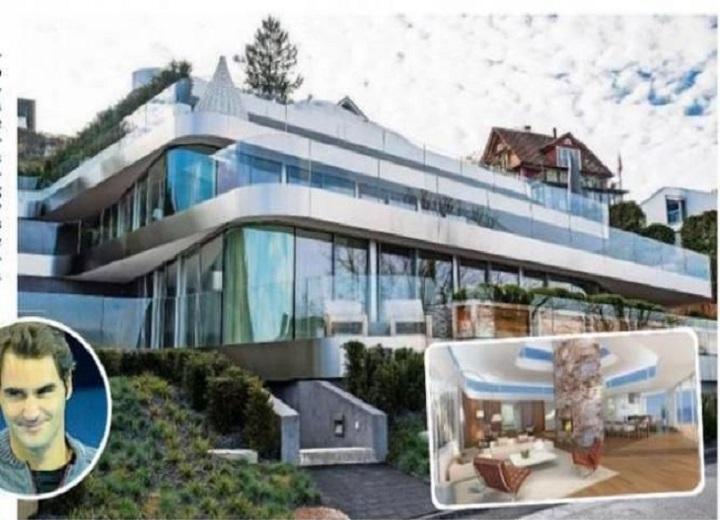 Inside Roger Federer's $7 Million Switzerland House