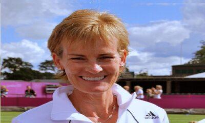 Judy Murray happy