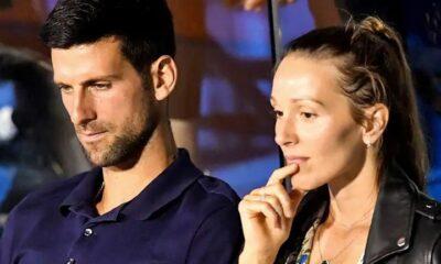 Novak Djokovic, His Wife Jelena