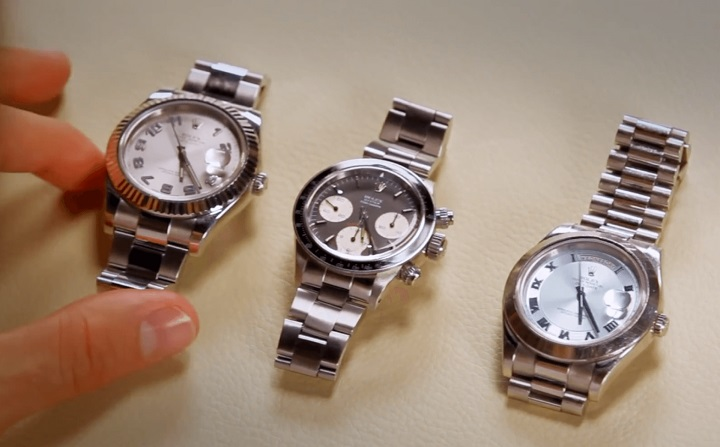 Roger Federer Explains A Few Of His Special Rolexes