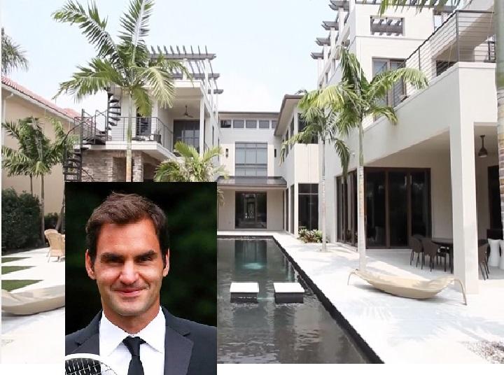 Roger Federer Stunning Glass House