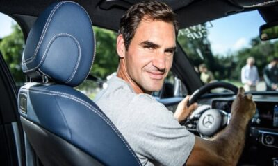 Roger Federer's Car Collection Is A luxury