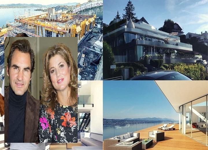 Roger Federer's Wife, Mirka Federer mansion