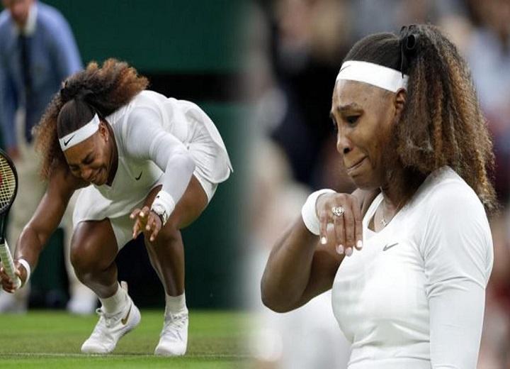 Serena Williams Exits Wimbledon after Injuring Right Leg