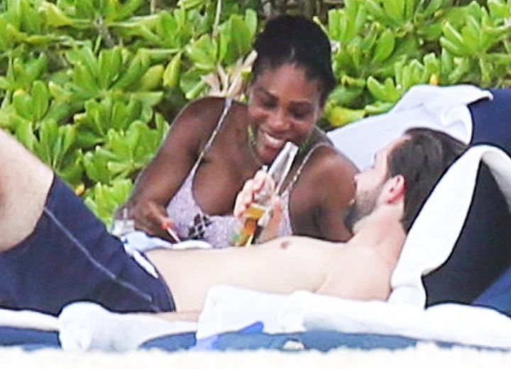 Serena Williams and Alexis Ohanian vacation