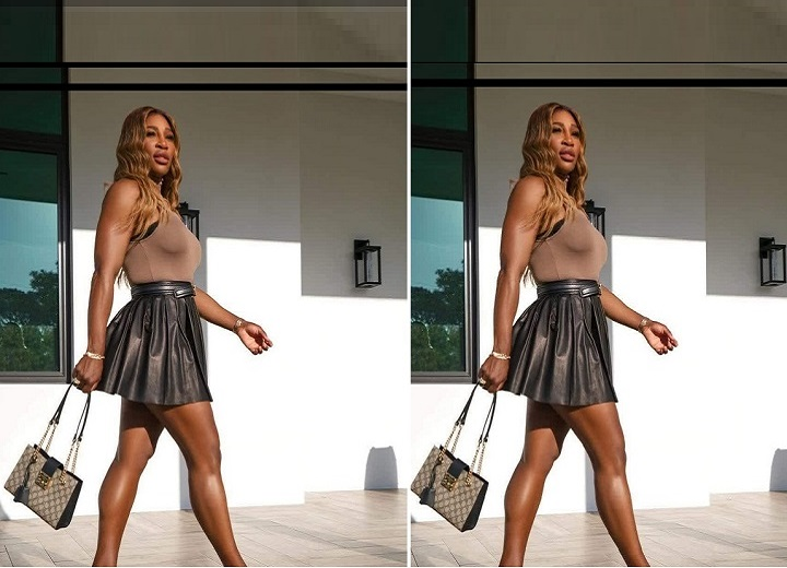 Serena Williams cat walk
