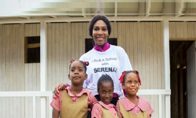 Serena Williams is Building Schools in Jamaica and Various African Nations