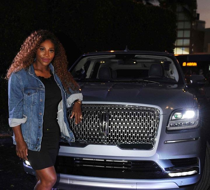 Serena Williams luxury cars