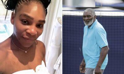 Serena Williams nd Father Richard
