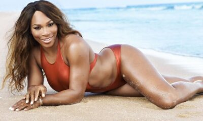 Serena Williams said she's learned to embrace her large curves