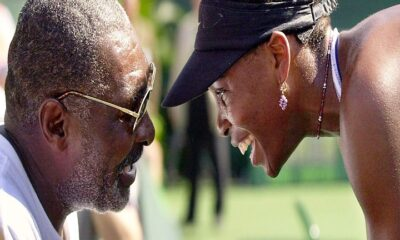 Venus Williams and father Richard