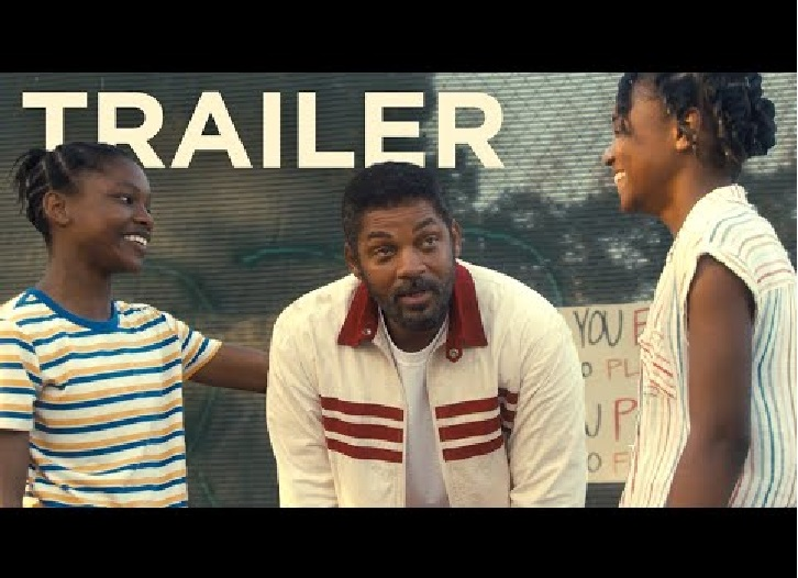 Watch Will Smith as Venus and Serena Williams' father in King Richard