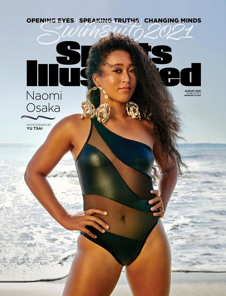 Naomi Osaka features on cover of Sports Illustrated