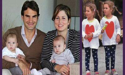 Roger Federer twins
