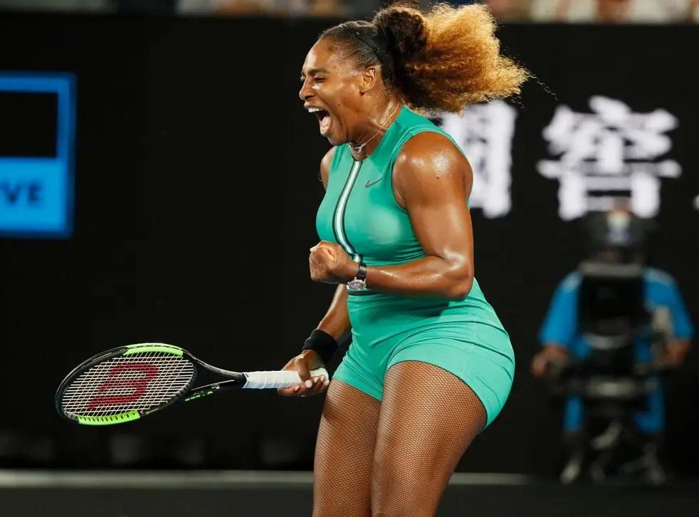 Australian Open 2019, Serena Williams beats Eugenie Bouchard
