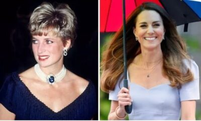 Kate seems to have altered a pair of earrings Diana regularly wore