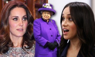 Meghan Markle and Kate Middleton, The Queen