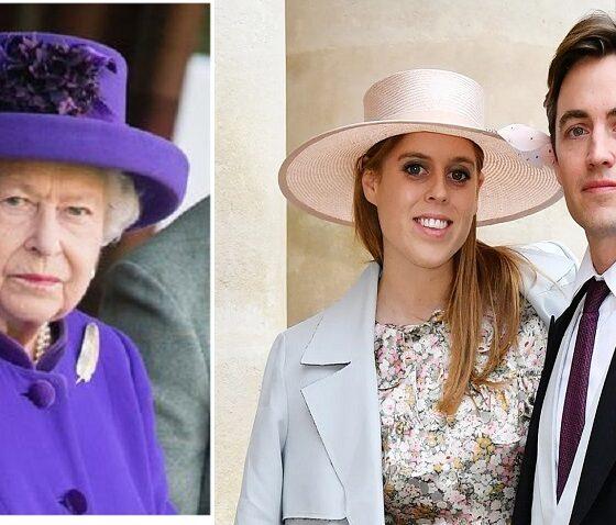 Princess Beatrice, Queen Elizabeth