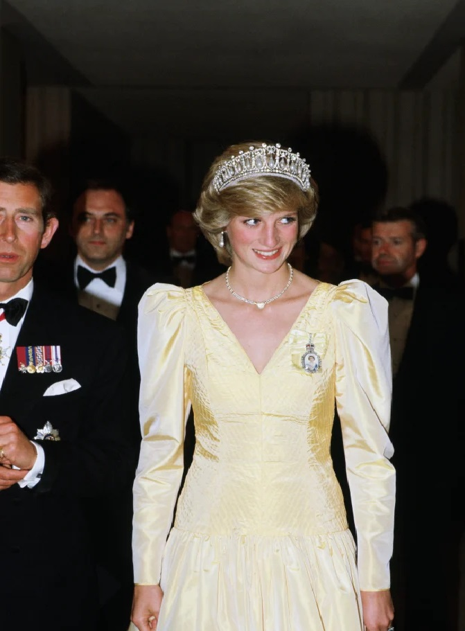 Princess Diana had access to some of the most extravagant pieces within the prized Royal Collection