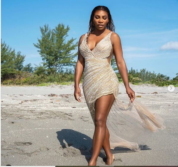 Serena Williams beach swimsuit for summer