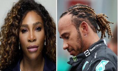 Serena Williams n Lewis Hamilton