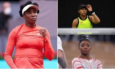 Venus Williams praises Naomi Osaka and Simone Biles