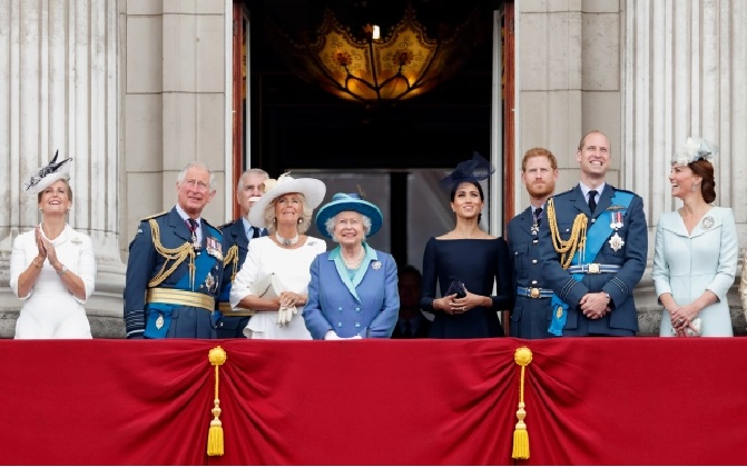 the Queen is keen to maintain hierarchy within the Royal Family as Meghan is 'of a lower rank than Kate'