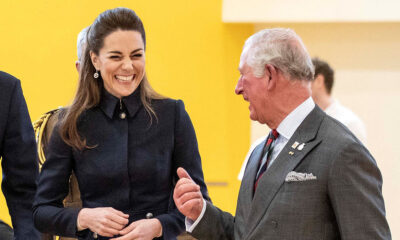 Duchess Kate and Prince Charles