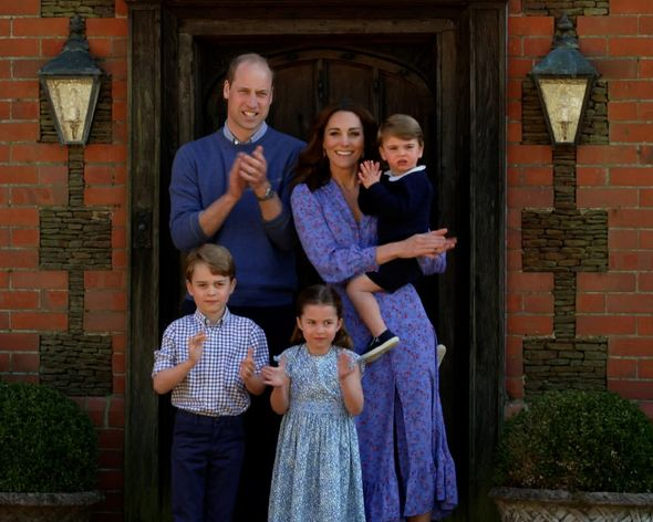 Kate Middleton and Prince Williams The Cambridges pictured at their Norfolk residence Anmer Hall