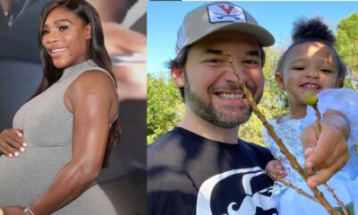 Serena Williams' Husband Alexis Ohanian Helps Daughter, Olympia