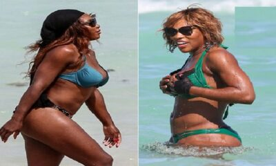 Serena Williams beach style